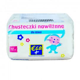 Eco+ Chusteczki nawilżane dla dzieci