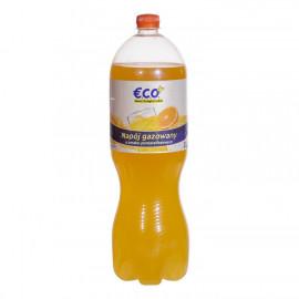 Napój gazowany o smaku pomarańczowym. Zawiera substancje słodzące. Zawiera źródło fenyloalaniny.