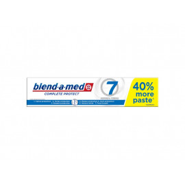 Blend-a-med Complete Protect 7 Crystal White Pasta do zębów 140ml