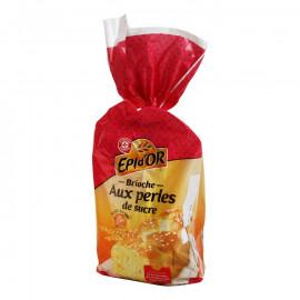 Brioche – bułka pszenna udekorowana cukrem perlistym 2,4%