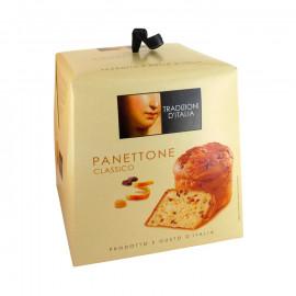 Babka Panettone 500 g - Włoskie ciasto drożdżowe z rodzynkami i kandyzowaną skórką cytrusów