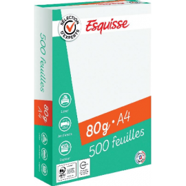 PAPIER XERO 500K 80G  ESQUISSE