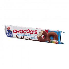 Wiodąca Marka  Ciastka w mlecznej czekoladzie 150g - 18sztuk