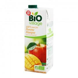 Ekologiczny 100% sok jabłkowy z przecierem z mangoProdukt rolnictwa ekologicznego.*Zawiera tylko naturalnie występujące cukry.