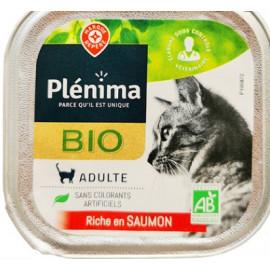 Wiodąca Marka Plenima Bio Karma dla kota z łososiem 100g