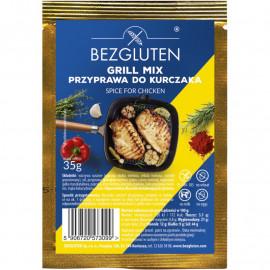 Bezgluten Grill Mix Przyprawa do Kurczaka Bezglutenowa 35 g