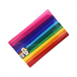 Happy color Bibuła marszczona Mix rainbow 10szt