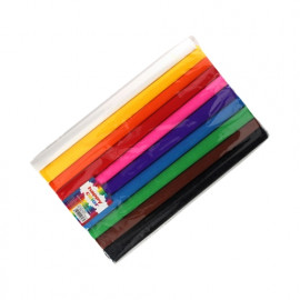 Happy color Bibuła marszczona Mix A kolorów 10 sztuk