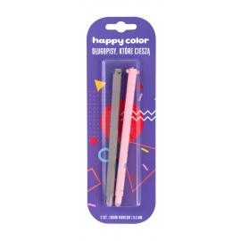 Happy Color Uszaki  Usuwalny długopis żelowy niebieski  2 szt. 0,5mm