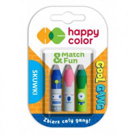 Happy Color Skuwki Cool Gang 3 sztuki .