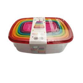 5five COLORS zestaw 6 kolorowych pudełek o różnych pojemnościach