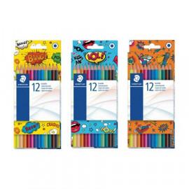 Staedtler zestaw 12 kolorowych kredek