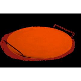 Excellent Houseware Kamień do pieczenia pizzy z uchwytami 33cm