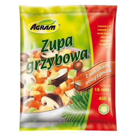 AGRAM ZUPA GRZYBOWA 450G