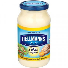HELLMANN'S MAJONEZ LIGHT 420ML