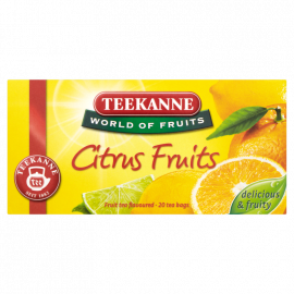 Teekanne World of Fruits Citrus Fruits Mieszanka herbatek owocowych 45 g (20 torebek)