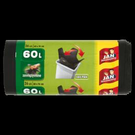 Jan Niezbędny Worki na śmieci 60 l 26 sztuk