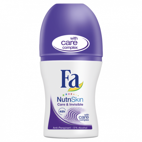 Fa NutriSkin Care & Invisible Dezodorant w kulce 50 ml