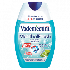 Vademecum 2w1 Menthol Fresh Pasta do zębów 75 ml