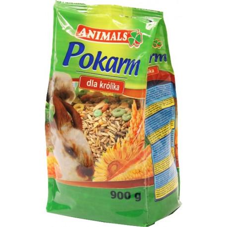 ANIMALS Pokarm dla królika 900g