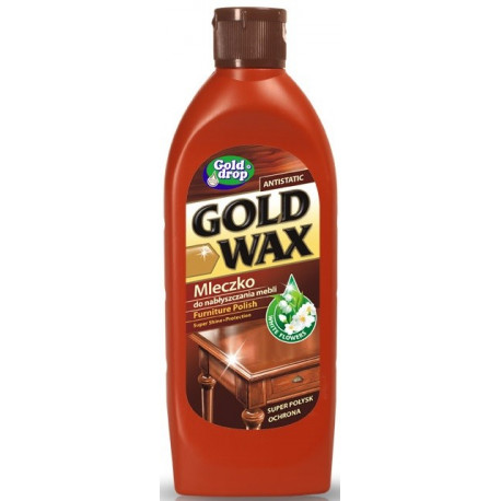GOLD DROP GOLD WAX EMULSJA DO MEBLI 250ML