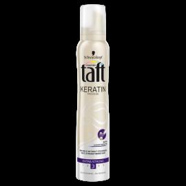 Taft Keratin Extra Strong Pianka do włosów 200 ml