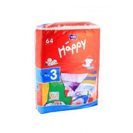 HAPPY PIELUSZKI 3 MIDI 64SZTUKI
