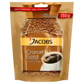 Jacobs Cronat Gold Kawa rozpuszczalna 150 g