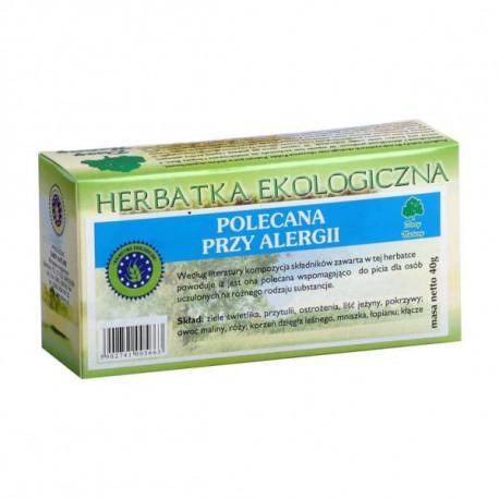 DARY NATURUY HERBATKA POLECANA PRZY ALERGII BIO 20 X 2G