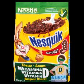 Nestlé Nesquik Alphabet Płatki śniadaniowe 325 g