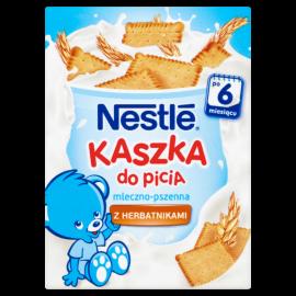 Nestlé Kaszka do picia mleczno-pszenna z herbatnikami po 6 miesiącu 200 ml
