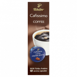 Tchibo Cafissimo Coffee Intense Aroma Kawa mielona w kapsułkach 78 g (10 sztuk)