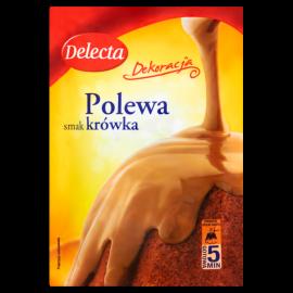 Delecta Polewa smak krówka 100 g