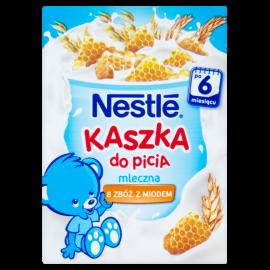 Nestlé Kaszka do picia mleczna 8 zbóż z miodem po 6 miesiącu 200 ml