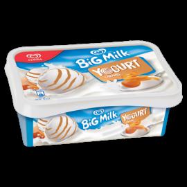 Algida Big Milk Yogurt Caramel Lody 1000 ml