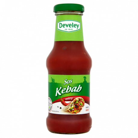Develey Sos Kebab ostry 250 ml