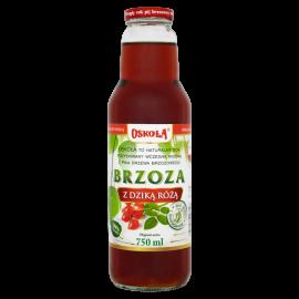 Oskoła Brzoza z dziką różą Naturalny sok 750 ml