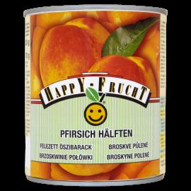 HAPPY FRUCHT Brzoskwinie połówki 820 g