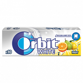 Orbit White Fruit Guma do żucia bez cukru 14 g (10 drażetek)