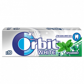Orbit White Spearmint Guma do żucia bez cukru 14 g (10 drażetek)