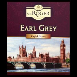 Sir Roger Earl Grey Herbata czarna ekspresowa 200 g (100 torebek)