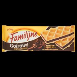 Familijne Gofrowe wafle z musem czekoladowym 150 g