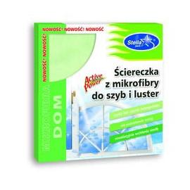 STELLA ŚCIERECZKA Z MIKROFIBRY DO SZYB I LUSTER