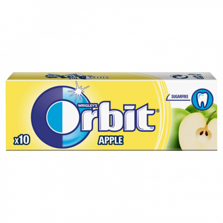 Orbit Apple Guma do żucia bez cukru 14 g (10 drażetek)