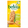 belVita Śniadanie Musli z owocami Ciastka z pełnym ziarnem 300 g (6 x 4 sztuki)