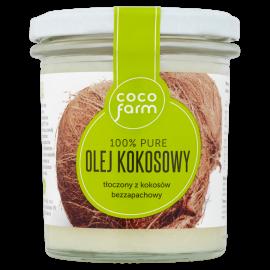 Coco Farm Olej kokosowy 100% Pure 240 g