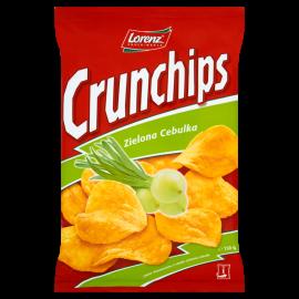 Crunchips Zielona Cebulka Chipsy ziemniaczane 150 g