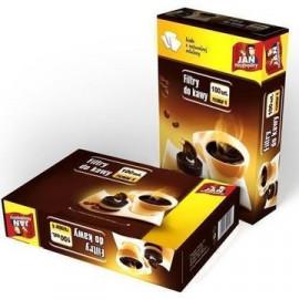 JAN NIEZBĘDNY Filtry do kawy 100 szt. rozmiar 4