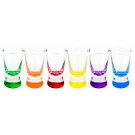 GLASMARK KROSNO 1992 Komplet 6 kieliszków do wódki 25 ml