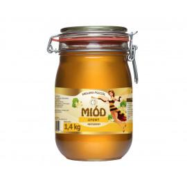 KRÓLOWA PSZCZÓŁ Miód lipowy nektarowy 1,4 kg